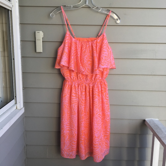 """Lilly Pulitzer for Target Dresses & Skirts - LILLY PULITZER for Target """"Girafeeey"""" Floucy Dress"""